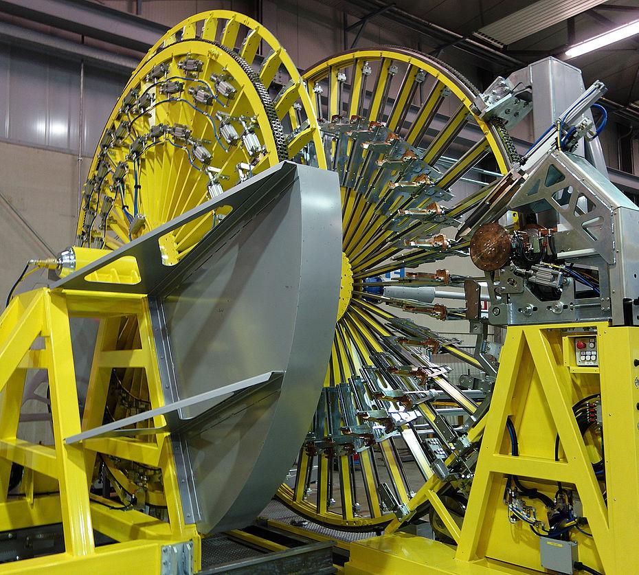 Cage Welding Machine | Progress Maschinen & Automation