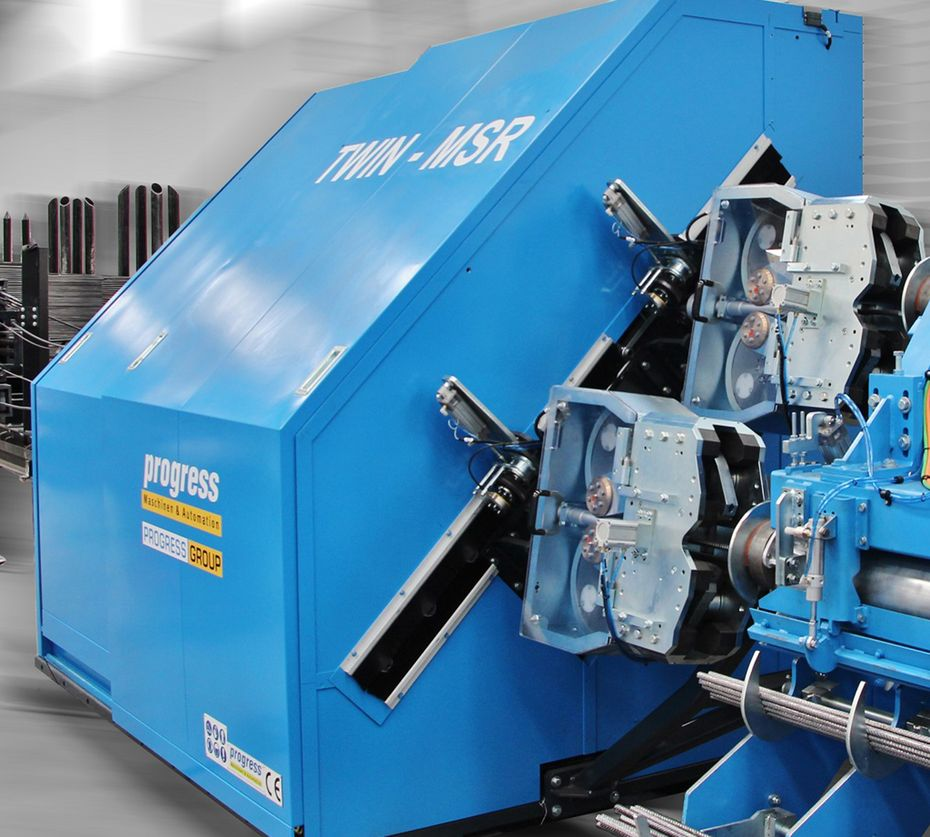 Straightening/cutting machines for production of rebar from coil – the ESR series